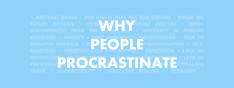 Why people procrastinate
